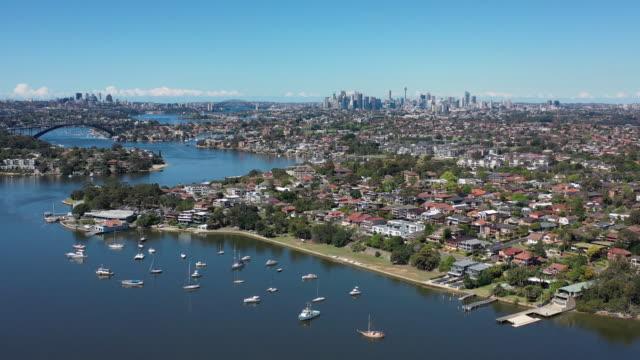 parramatta river, sydney - suburban stock videos & royalty-free footage