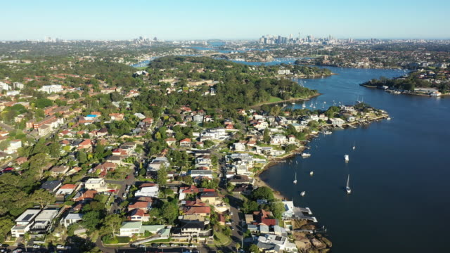 parramatta river. - residential district stock videos & royalty-free footage