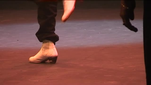 andrea olea from 03 until 05 may 2012 the 2012 parc la villette flamenco festival presents a show schedule of spain's firstrate flamenco bailaores... - flamenco stock videos & royalty-free footage