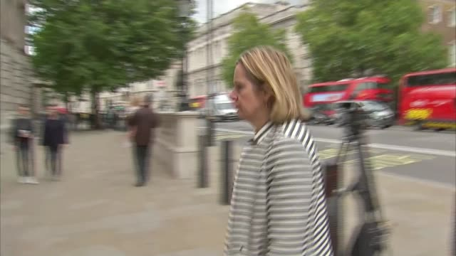 18yearold man arrested in Dover / property raided in Sunbury London Westminster Amber Rudd MP arriving at Cabinet Office Home Office INT Amber Rudd...