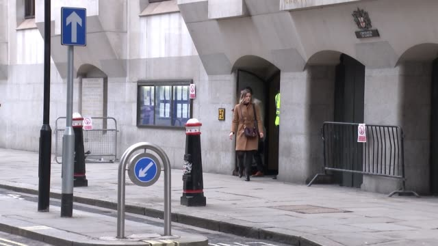 Video from inside the train shown in court Old Bailey Aimee Colville leaving court