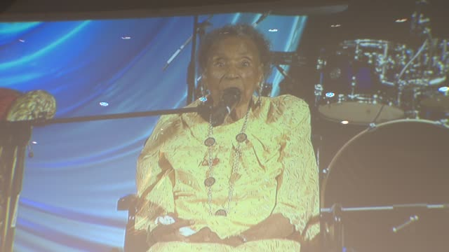Part 1 Amelia Boynton Robinson Speaks at the United Palace House of Inspiration on June 15 2015 in New York City