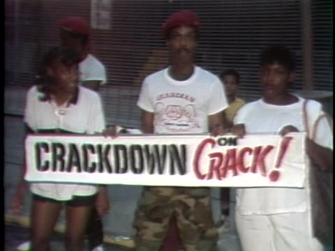 part 2 1980s crack epidemic takes over new york city on august 11 1986 in new york city - cocaine stock videos and b-roll footage
