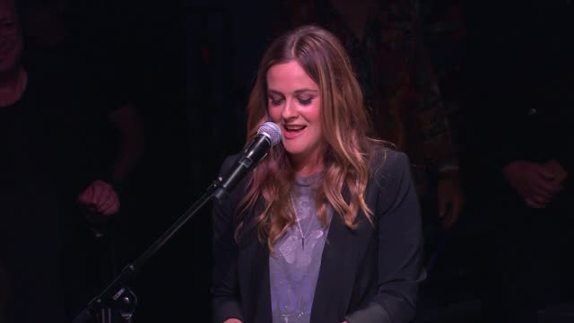 Alicia Silverstone on Alanis' music appealing to both young and adult audiences on Alanis' talent as a writer and on Alanis as a good friend at...