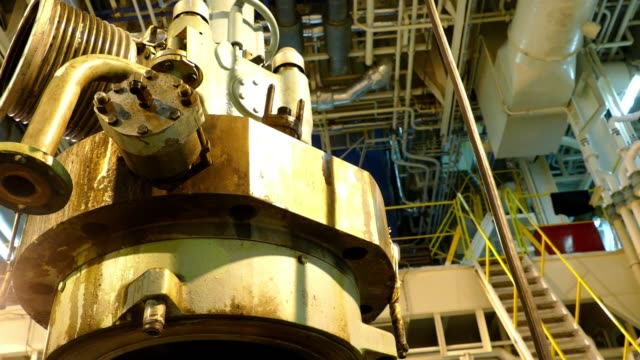 stockvideo's en b-roll-footage met deel van de motor - machinekamer
