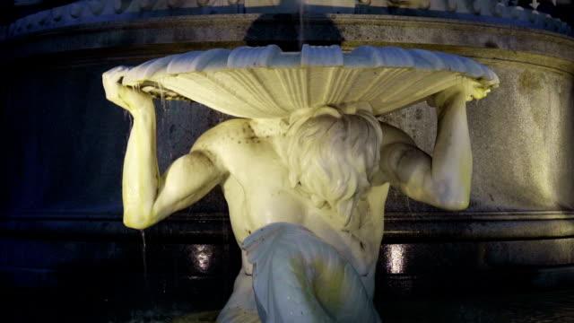 Part of Pallas Athena Fountain - Vienna