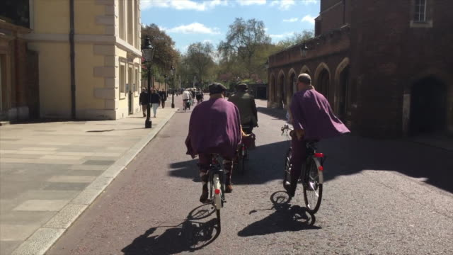 part three of a short film about the tweed run as it passes through london on a glorious spring morning. - attending stock videos & royalty-free footage