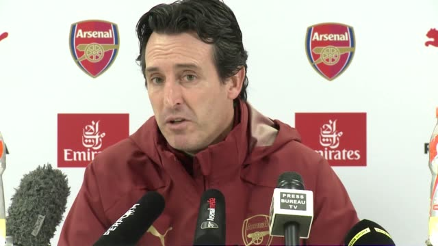 Part two of Arsenal Manger Unai Emery's press conference ahead of Arsenal's match against Burnley