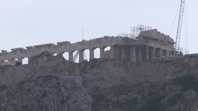 parthenon in athens - jerusalem stock videos & royalty-free footage