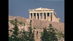 Parthenon temple Athens