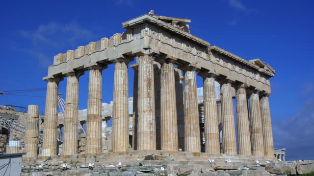 parthenon - parthenon athens stock videos and b-roll footage