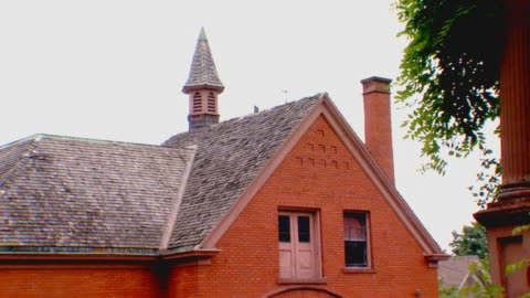 partial building exterior of home - brick stock videos & royalty-free footage