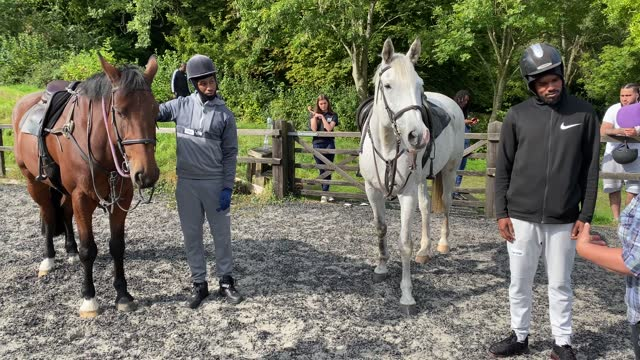 participants take part in key4life's rehabilitation program which includes work with horses at the residential retreat centre on september 22, 2021... - mammal stock videos & royalty-free footage
