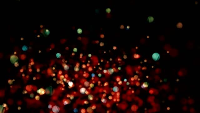 partikel abstrakter hintergrund - hell beleuchtet stock-videos und b-roll-filmmaterial