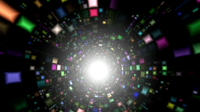 """Particle accelerator, abstract animation"""