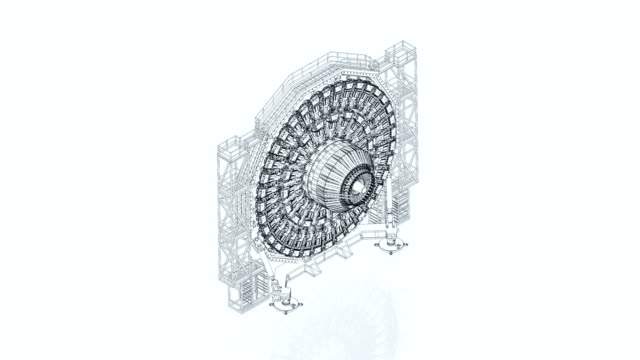 Teilchen-Beschleuniger Teil Baupläne