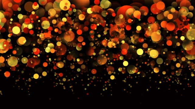 Particle decoration background loopable
