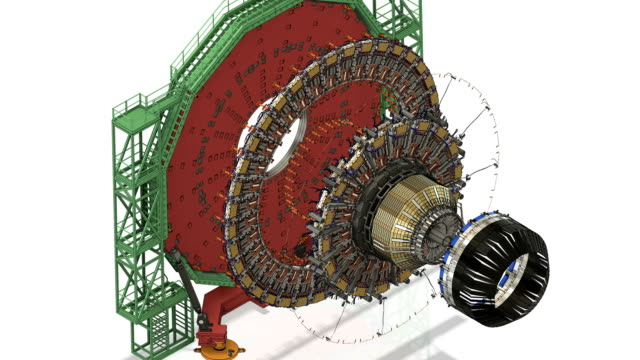 Detektor Partikelmodell unmontiert