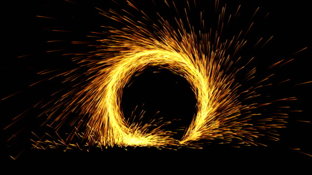 particle explosion - portal start, finish and loop 4k - sparks stock videos & royalty-free footage