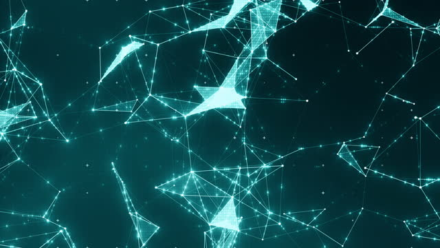 stockvideo's en b-roll-footage met deeltjesnetwerkverbindingspunten - brachiale plexus