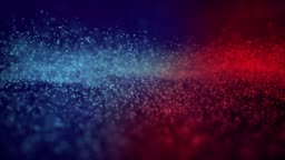 4K Particle seamless background - Loopable