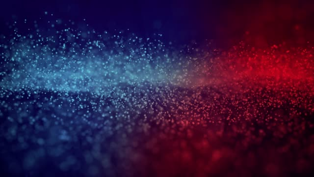4k particle seamless background - loopable - red stock videos & royalty-free footage