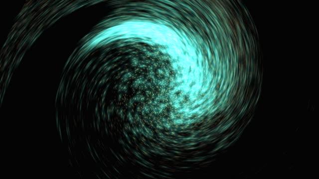 particella ricciolo sfondo loop - paranormale video stock e b–roll