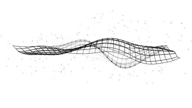 partikelvågor (loop 4k) - sea robin bildbanksvideor och videomaterial från bakom kulisserna