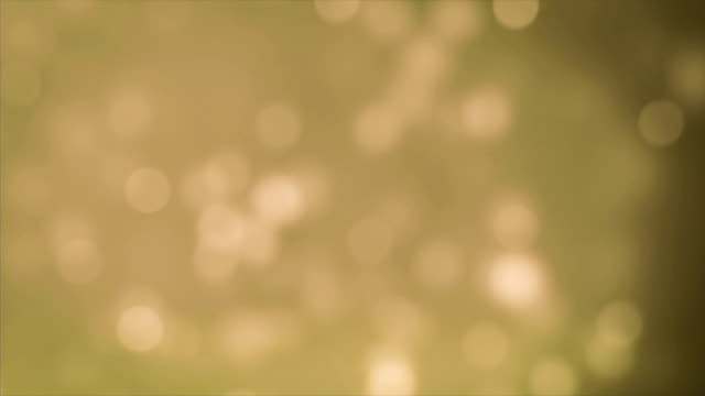 4K Particle Yellow Backgrounds Loopable