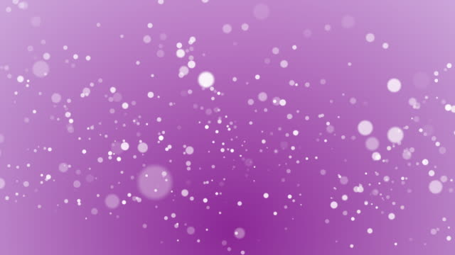 Particles floating in 4k resolution.