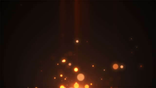 particles floating in slow motion. loopable footage in fullhd. - fade in video transition stock videos & royalty-free footage