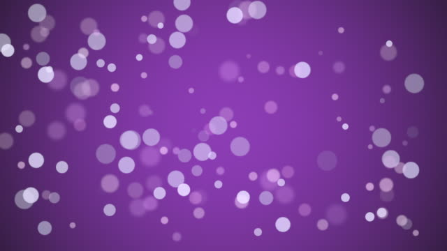 particles floating in slow motion. loopable footage in fullhd. - purple background stock videos & royalty-free footage