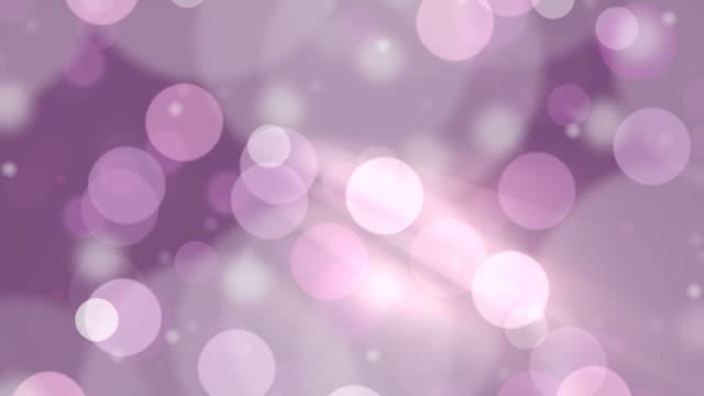 vidéos et rushes de particules flottantes au ralenti. hors focus technique pour un effet visuel. - surexposition effet visuel