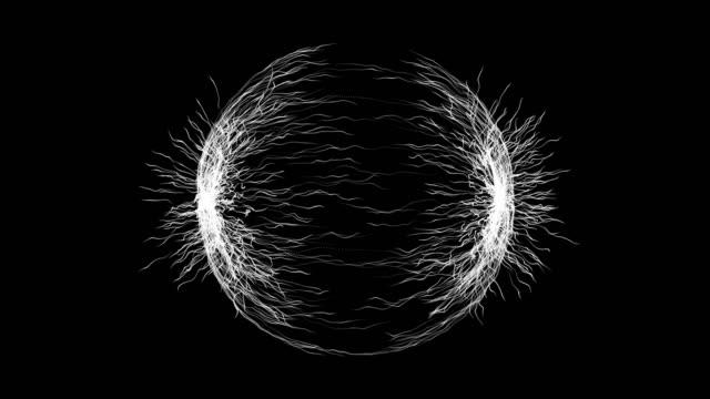 particles flow background. space flower. (loop 4k) - fairy stock videos & royalty-free footage