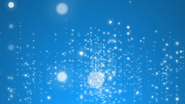 particles glowing in 4k resolution. - blue background stock videos & royalty-free footage