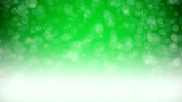 Particles - Green Backgrounds