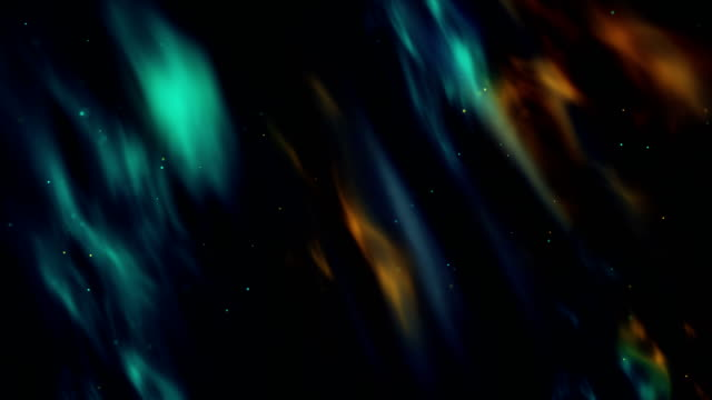particles in motion (multi colored) abstract background - multi coloured stock videos & royalty-free footage
