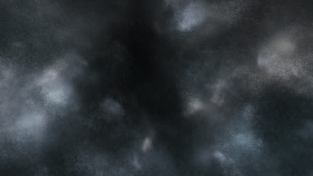 particles in motion (dark) - loop - storm cloud stock videos & royalty-free footage