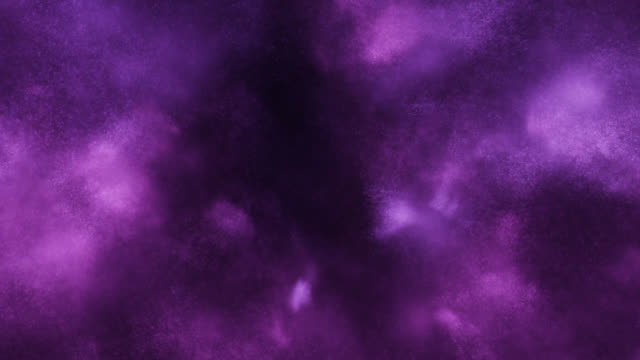 particles in motion (purple) - loop - smoke physical structure stock videos & royalty-free footage