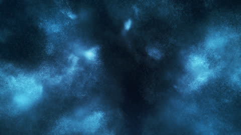 particles in motion (blue) - loop - impact stock videos & royalty-free footage