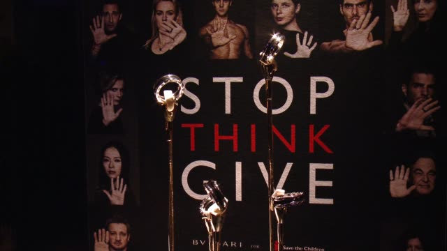 Partners With Save The Children To Launch STOPTHINKGIVE A Collection Of Celebrity Portraits By Fabrizio Ferri on February 17 2015 in Beverly Hills...