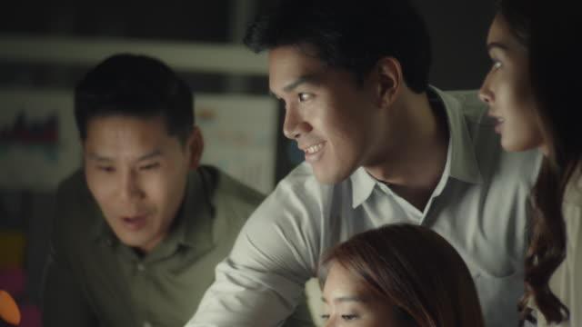 vídeos de stock e filmes b-roll de partnership : business meeting - relação profissional