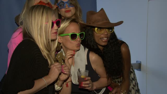 party at self magazine celebrates the july music issue with cover star fergie at the hotel on rivington penthouse on june 05 2012 in new york new york - penthouse magazine stock videos & royalty-free footage