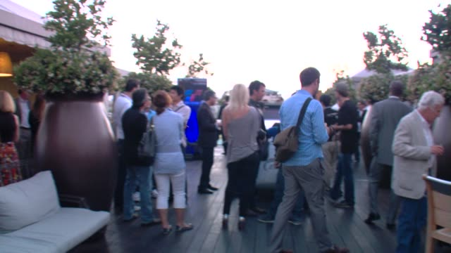 Party at the MercedesBenz Exclusive Preview Of The 2011 SLS AMG In Grand Turismo 5 at Los Angeles CA
