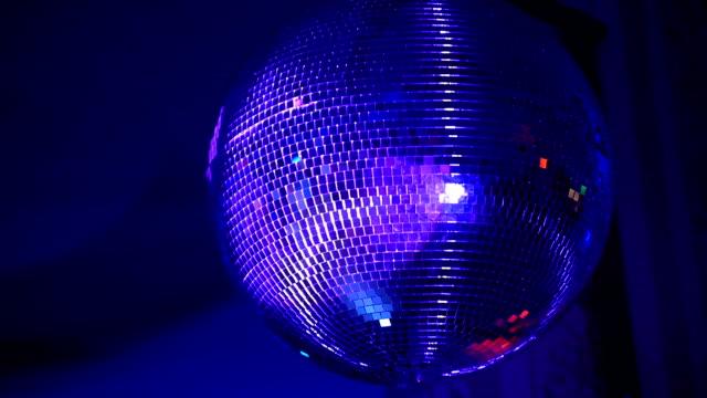 party disco ball - mirror ball stock videos & royalty-free footage