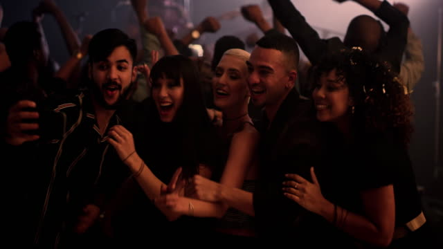 party hardy and take lots of selfies - popular music concert stock videos & royalty-free footage