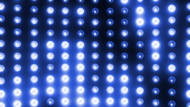party lights (loopable) - stage light stock videos and b-roll footage