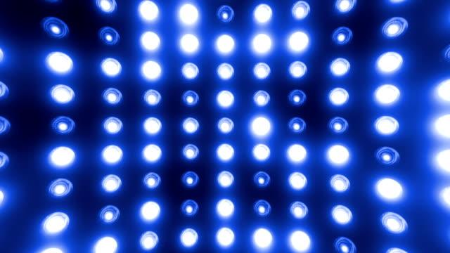vídeos de stock e filmes b-roll de festa de luzes (loopable - iluminado por holofote