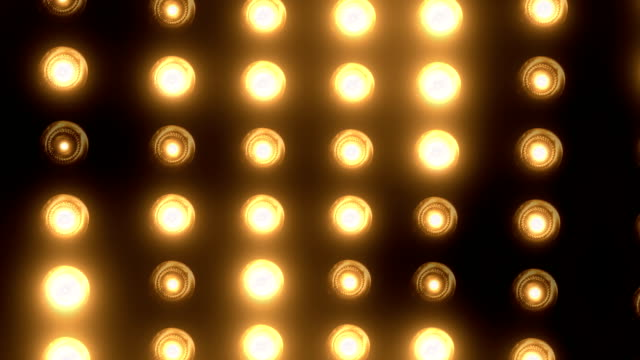 party lights (loopable) - broadway manhattan stock videos & royalty-free footage