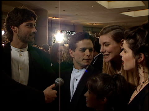 Party of Five at the 1996 Golden Globe Awards at the Beverly Hilton in Beverly Hills California on January 21 1996